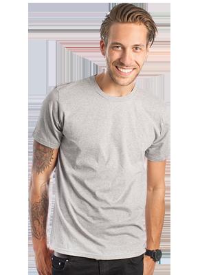 Slim Fit T skjorte for menn med eget designtrykk Lag din