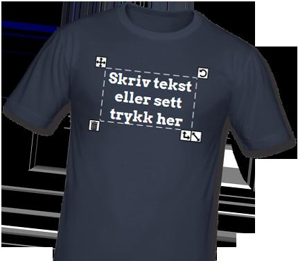 4187a953 Lag din egen t-skjorte - Design kule t-skjorter og klær med eget trykk