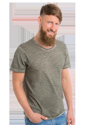 T skjorte for menn med eget designtrykk Lag din egen t